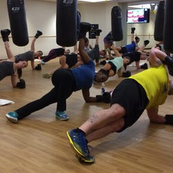At BFX Studio in Boston, exercisers do their routines with the thermostat set to 62 degrees,