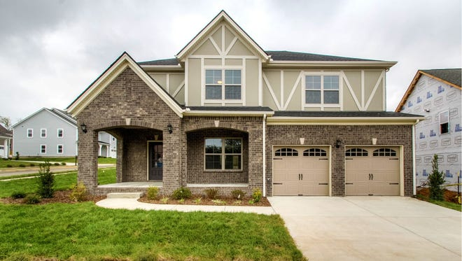 Goodall Homes is selling homes similar to this one in its new 51-home Settler's Ridge subdivision in the town of White House.