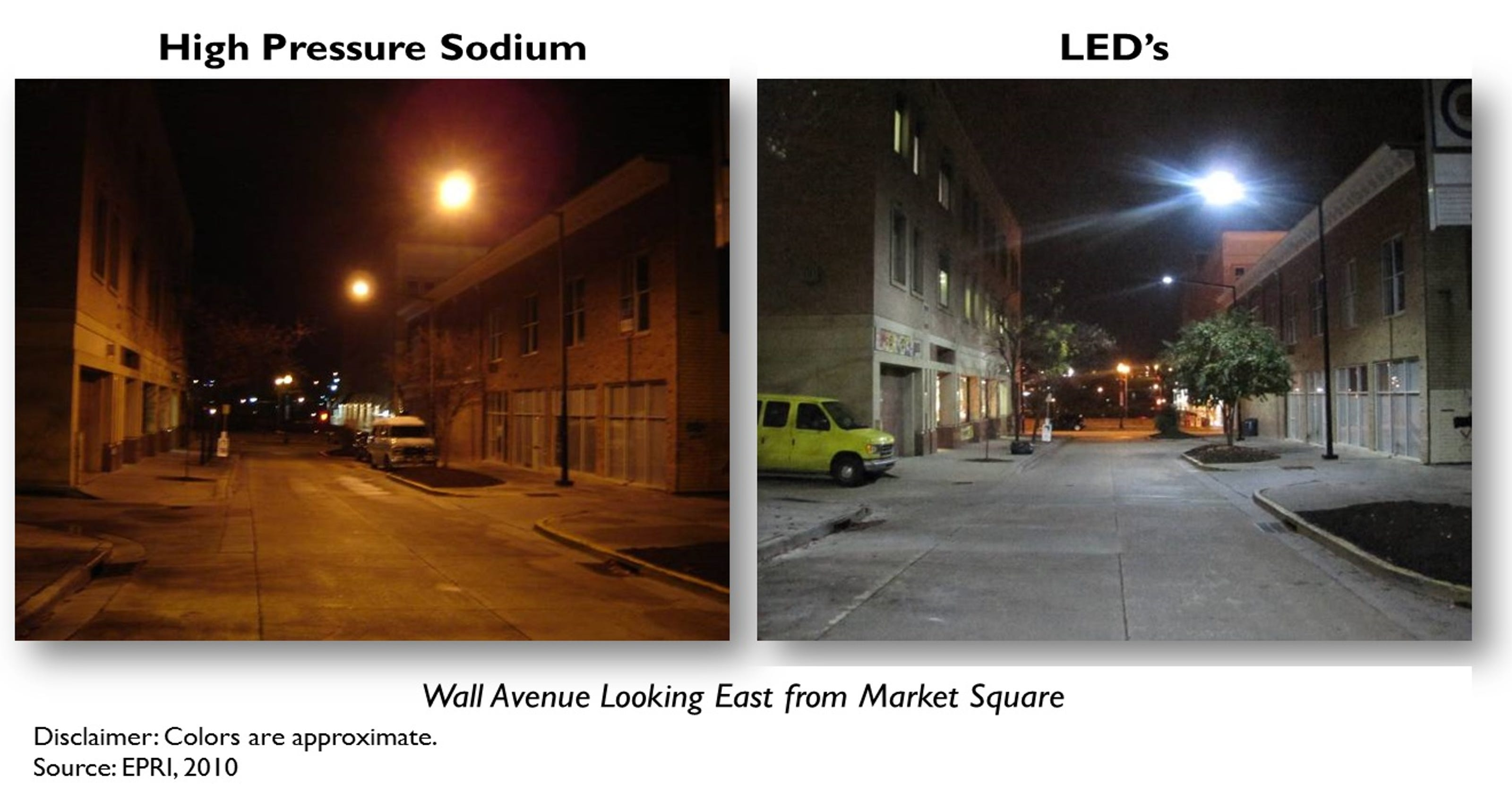 Knoxvilles new led street lights could open night sky