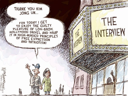 FW: Nick Anderson 12/28 The Interview (color) cartoon