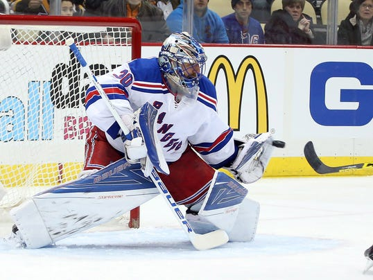 USP NHL: NEW YORK RANGERS AT PITTSBURGH PENGUINS S HKN USA PA