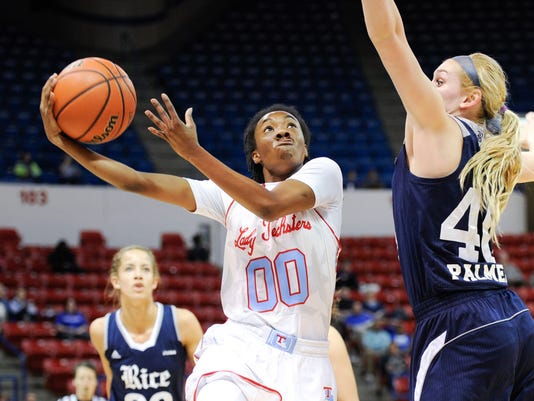 Lady Techsters Basketball vs Rice