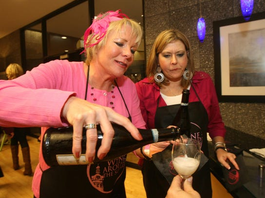 The fifth annual Wine Around the Square to benefit
