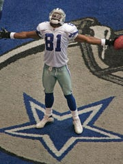 T.O. was a star. He ranks eighth in catches, second