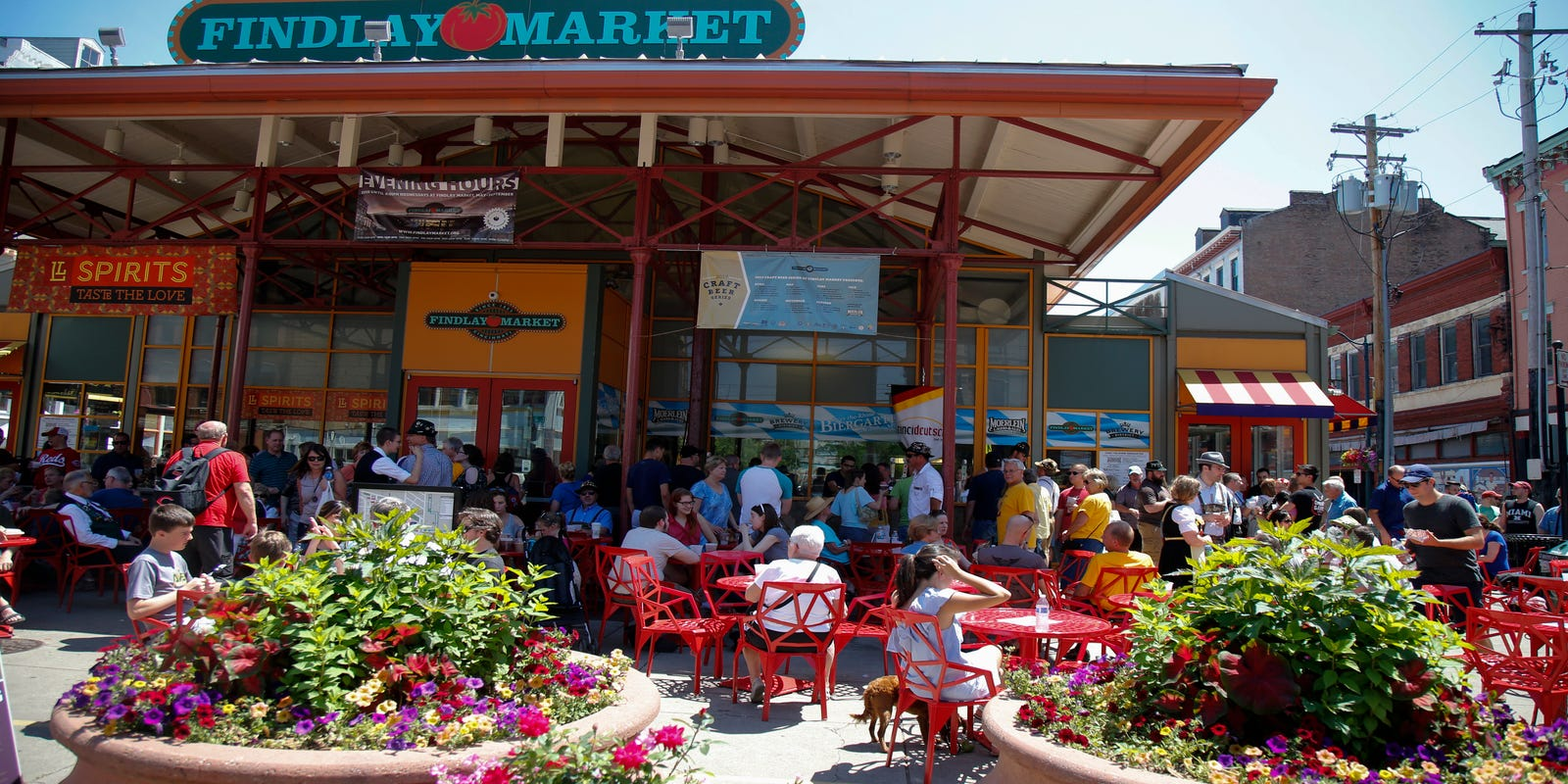 Newsweek names Cincinnati, Ohio's Findlay Market as one of the world's best food markets