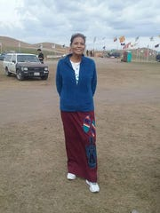 Jewel Deschamps-Gopher visited Standing Rock in October. She called the experience humbling and said she gets chills when she thinks about it.