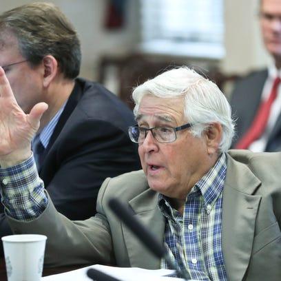 Bill Stone criticized the contract of consultant Chuck