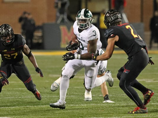 NCAA Football: Michigan State at Maryland