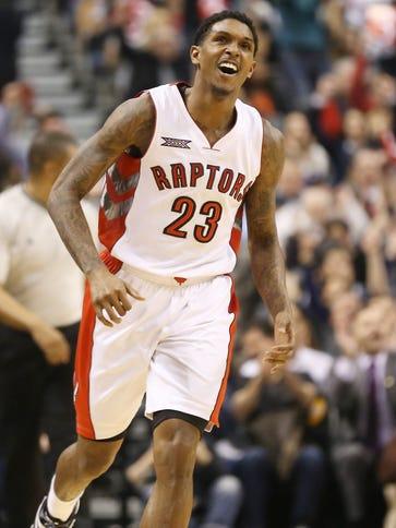 Toronto Raptors guard Lou Williams (23) was named NBA