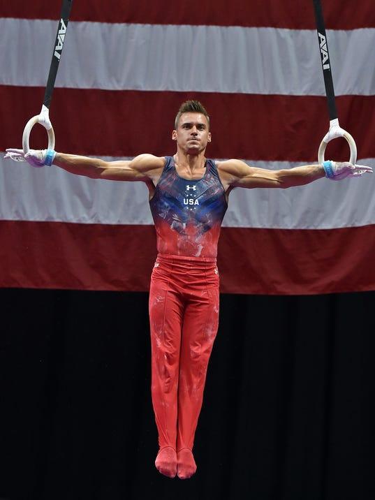 U.S. men's gymnastics team announced for 2016 Rio Olympics