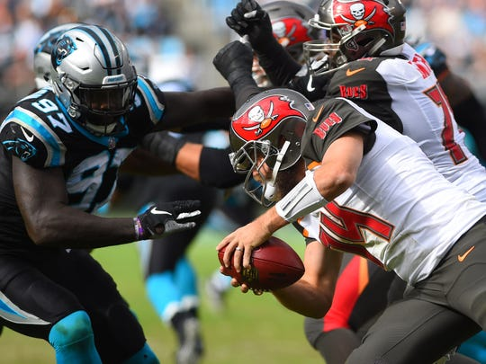 Former Carolina standout Mario Addison was signed to bolster the Bills pass rush.