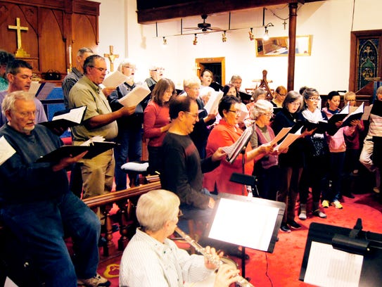 The Community Chamber Singers will present a free holiday