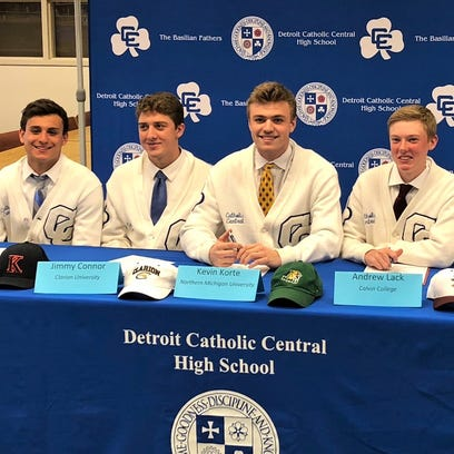 More Detroit Catholic Central athletes headed to college ranks
