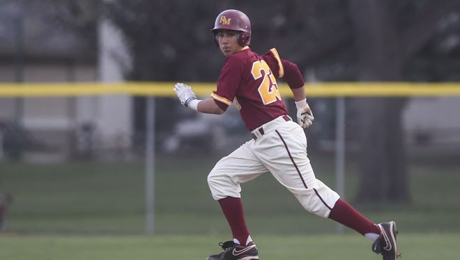 Rocky Mountain's Alex Gonzales in a game last season. Gonzales is one of eight seniors for the No. 5 Lobos.