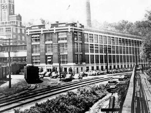 The Peters Cartridge Co. factory in Kings Mills.