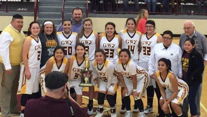 The Cherokee girls basketball team won the Big Smoky Mountain Conference tournament championship on Friday.