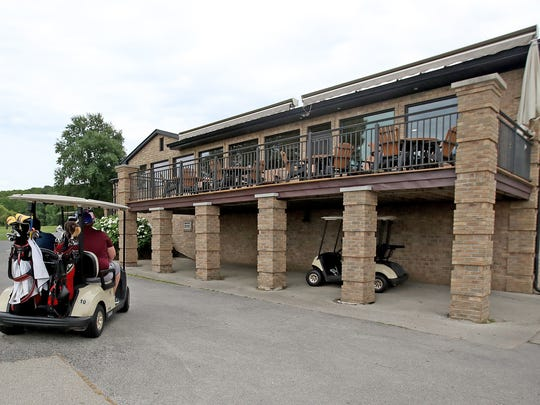 The Ledgeview Golf Course clubhouse and pro shop.