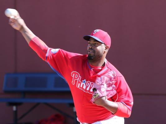 MLB: Philadelphia Phillies-Workout