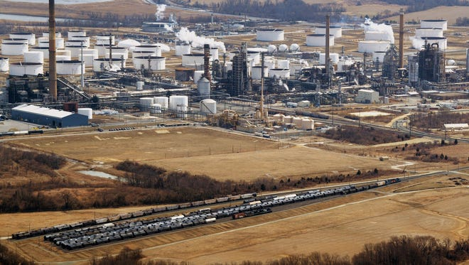 Delaware City refinery can process up to 191,000 barrels per day and is one of its most-complex units, with an ability to process heavy, high-sulfur crudes.