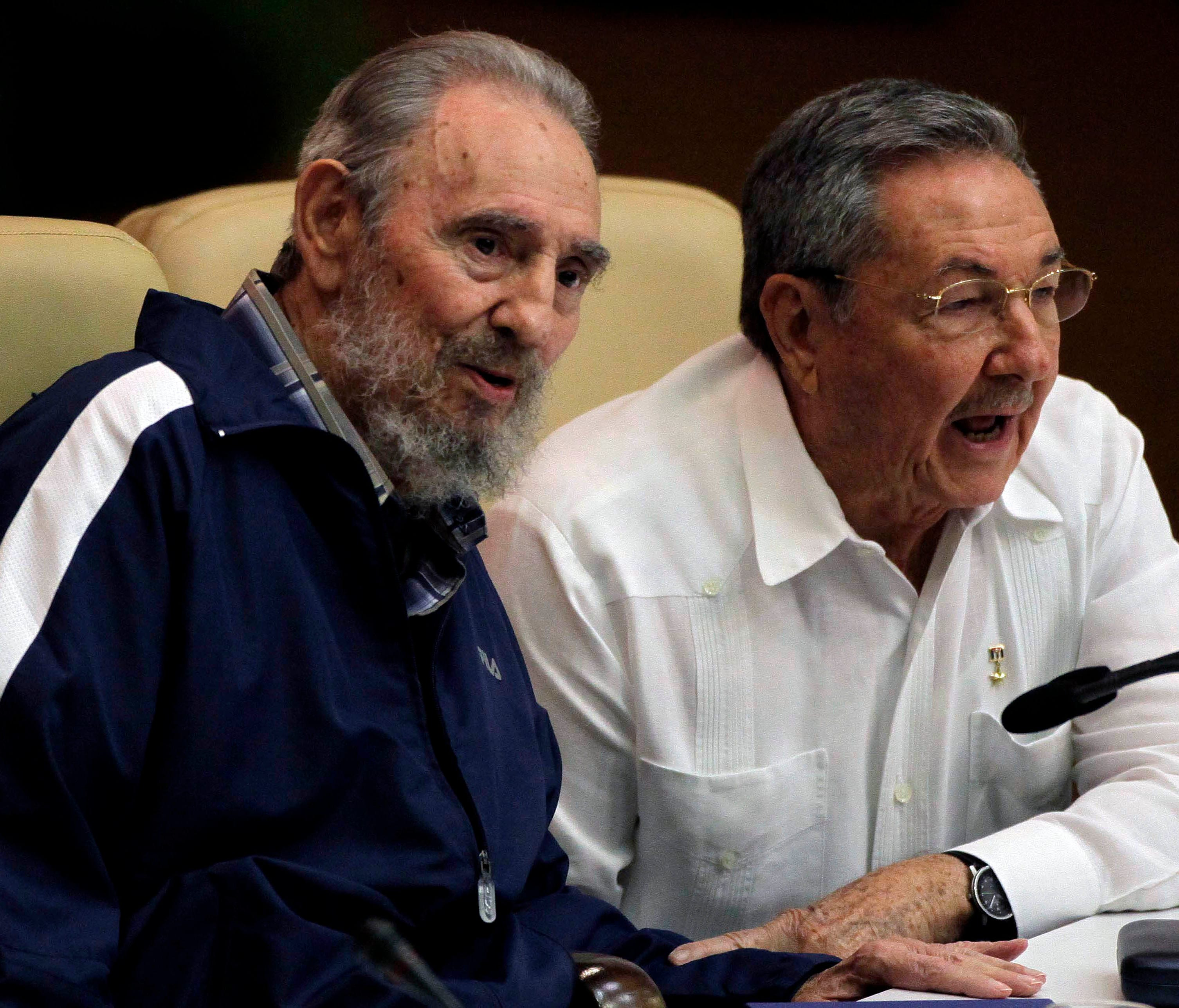 Cuba is expected to name a new president on April 19, 2018, which would mark the first time a Castro is not head of state in nearly 60 years. In this 2011 file photo, former president Fidel Castro, left,  and current President Raul Castro attend the