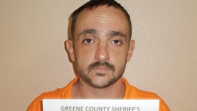 A photo provided by the Greene County Sheriff's Department shows Derrick Dearman.