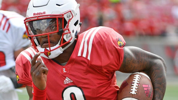 Former Louisville, QB Lamar Jackson is a two-time ACC