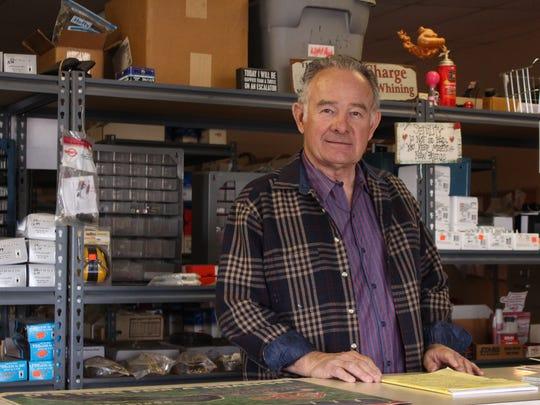 2. Bill Beach, owner of Push and Pedal repair shop,