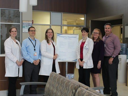 The Good Samaritan Hospital Stroke Program team includes