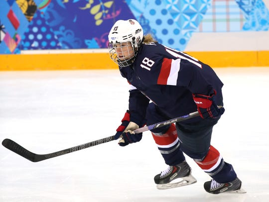 Lyndsey Fry of Chandler played on the U.S. women's