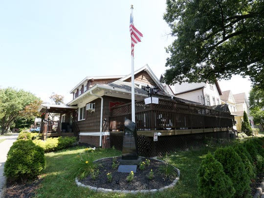 The home of the Exempt Firemen's Association at 200 Mansion Street in the City of Poughkeepsie on July 13, 2018.