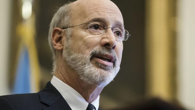 "In a conference call with U.S. Sen. Bob Casey on Tuesday, Gov. Tom Wolf said that without the additional $600 unemployment payment, Pennsylvanians ""may face home foreclosure, hunger or power shutoffs."""