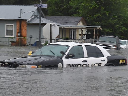 Flooding in Opelousas has caused multiple road closures and evacuations. Flooding in Opelousas