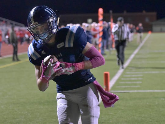 Livonia Stevenson's Devin Dunn was selected to the All-KLAA Black Division team.