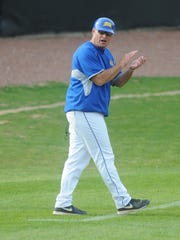 Mike McGuire was named Ohio Valley Conference coach of the year in 2015 after leading them to 20 league wins.