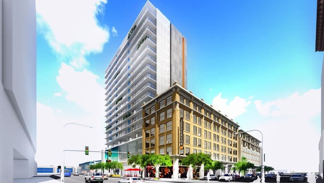Once the tallest building in the state, the Barrister Building in Phoenix has been vacant for several years since the city closed it . One company is proposing turning the building into condos.