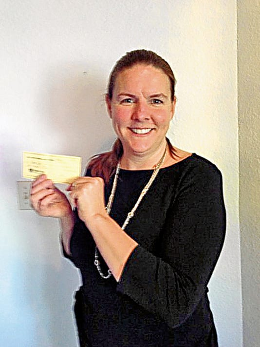 Laura B. Fox, a member of Delta Kappa Gamma International, has been awarded a scholarship in the amount of $500.