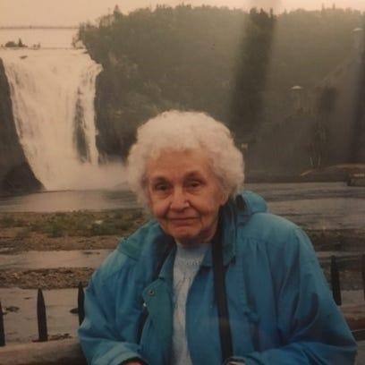 Happy 100th birthday to Catherine Rubino
