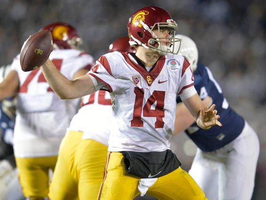 Quarterback Sam Darnold will be a key for Southern