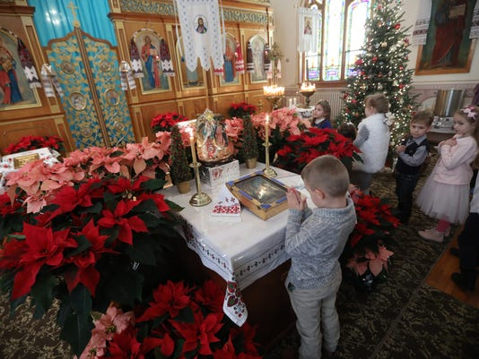 orthodox congregants celebrate christmas day - When Did We Start Celebrating Christmas
