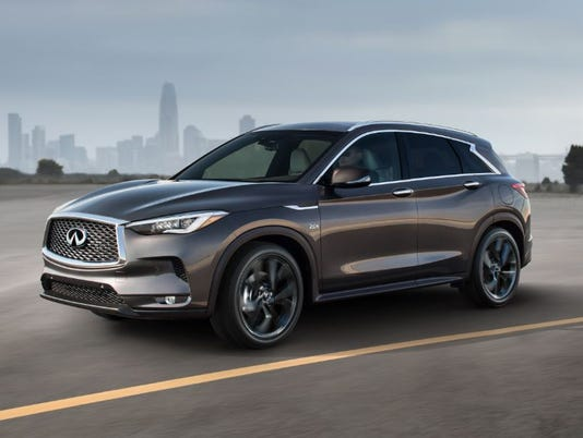 Suv >> Infiniti Unveils Suv With Radical New Engine Tech