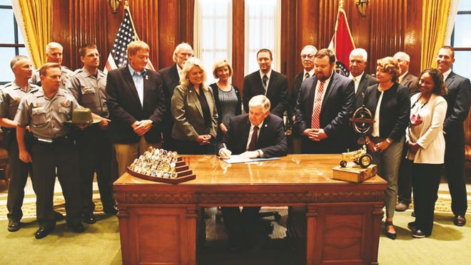 Gov. Parson recently signed into law a poaching bill that significantly raises fines for those convicted of illegally taking Missouri game species and other native wildlife. Hopefully, this will help with an ongoing problem