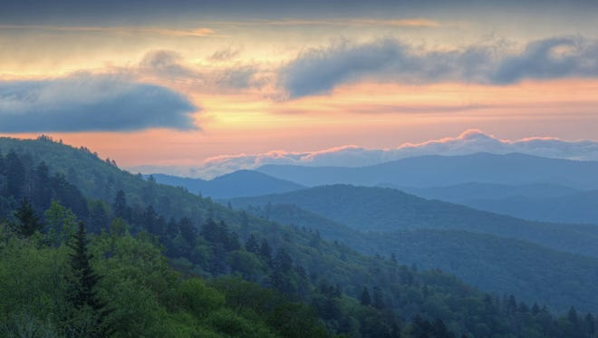 The Great Smokey Mountains National Park had it's most visitors since 2000 in 2014.