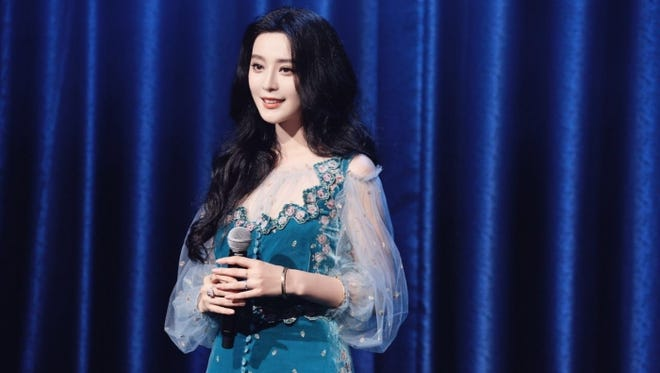 Actress Fan Bingbing at the christening of Royal Caribbean's Ovation of the Seas in Tiajin, China.
