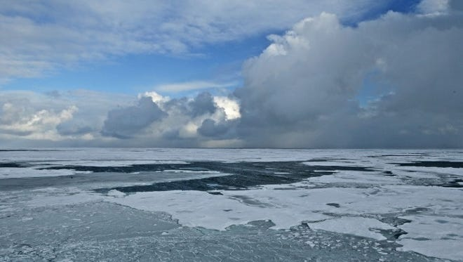 Winter in the arctic.