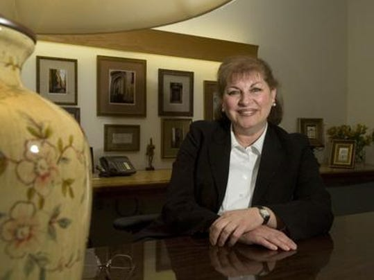 Superior Court Judge Mary Eva Colalillo in a 2008 file photo (Denise Henhoeffer of the Courier-Post)