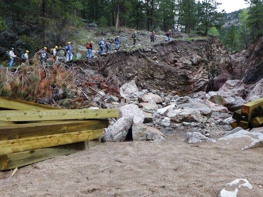 FTC0608-sp lion gulch trail restoration