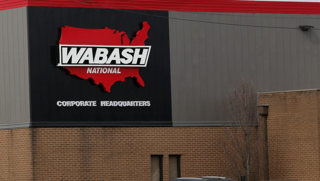 Wabash National Corp., Wednesday, March 9, 2016, at 1000 Sagamore Parkway in Lafayette. Bianca Ruiz is suing Wabash National for allegedly interfering and retaliating against her for taking protected leave due to pregnancy-related symptoms.