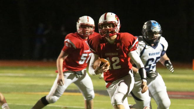Sean Hopkins and Westwood face Mahwah in the North 1, Group 2 football final.