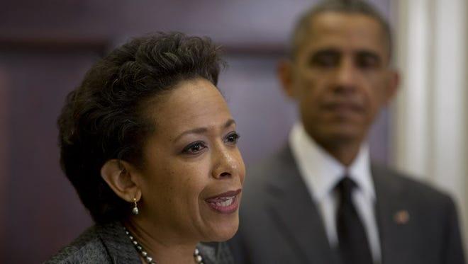 President Obama nominates Loretta Lynch on Saturday.