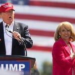 Photos: Trump visits Prescott Valley, October 2016